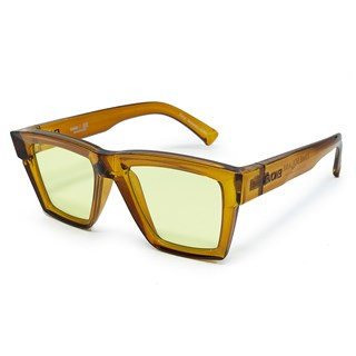 Óculos Evoke Time Square YD02 Yago Dora Crystal Ambar Caramel / Yellow