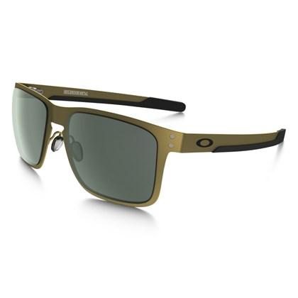 Óculos Holbrook Metal Gold Satin/Dark Grey