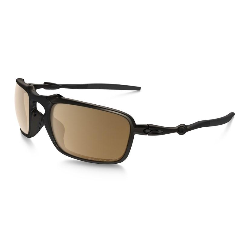Compre Óculos Oakley Badman - Pewter Tungsten Iridium Polarized na ... 3cf6a03359