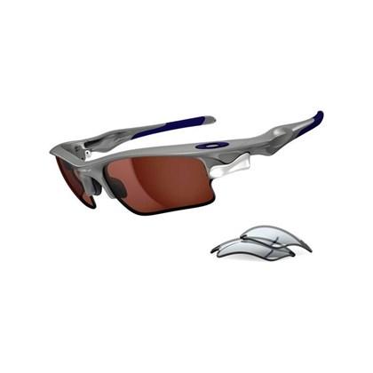 Óculos Oakley Fast Jacket XL Polished Fog/VR28 Black Iridium