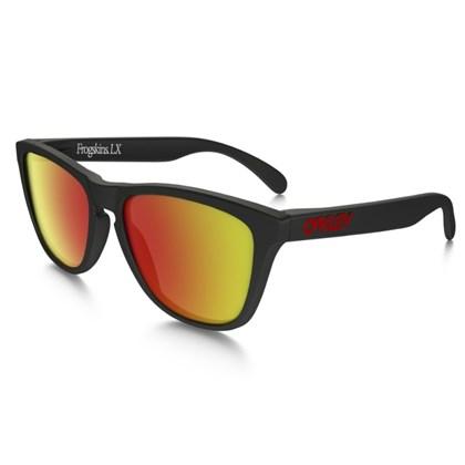 Óculos Oakley Frogskins LX Matte Black / Ruby Iridium