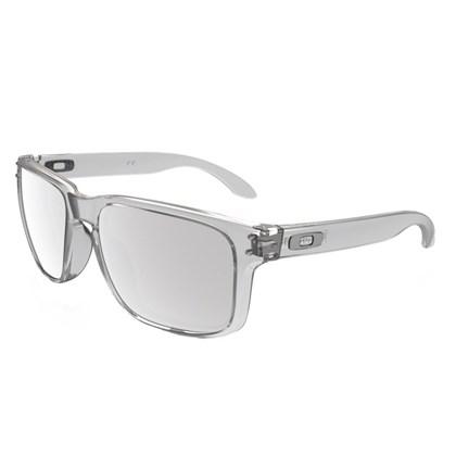 Óculos Oakley Holbrook Clear/Chrome Iridium