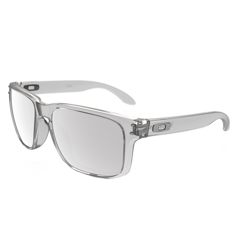 af942296cbd3a Compre Óculos Oakley Holbrook Clear Chrome Iridium na Back Wash!