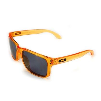 Óculos Oakley Holbrook Crystal Orange Grey 9102-31