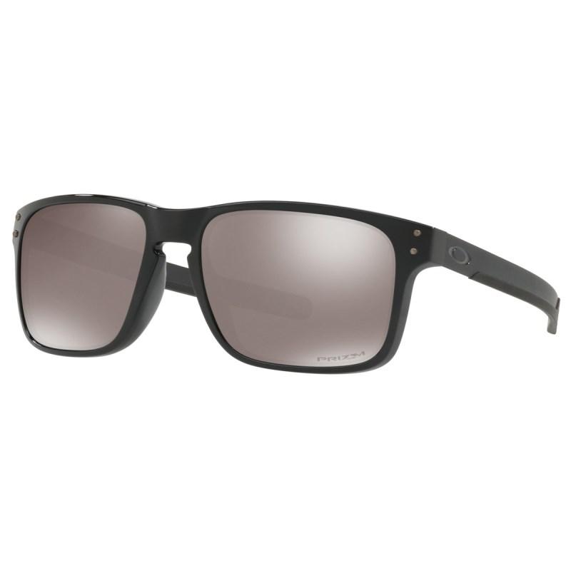 Compre Óculos Oakley Holbrook Mix Polished Black Prizm Polarizado ... ac184296cc
