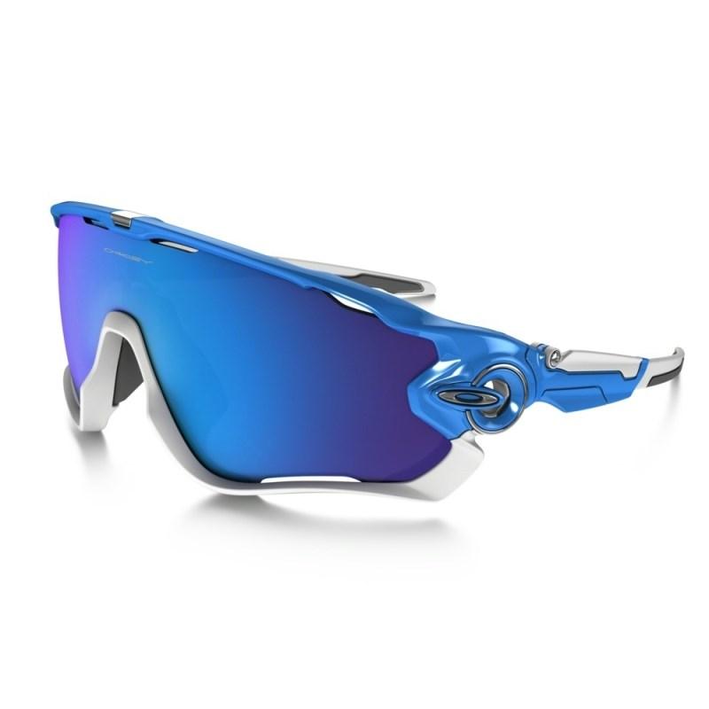 19c6661c7 Óculos Oakley Jawbreaker Sky Blue Sapphire Iridium - Back Wash
