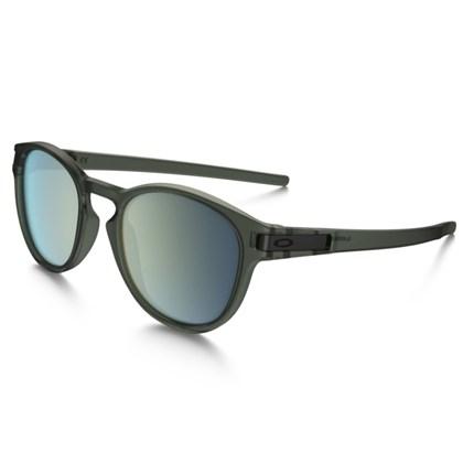 Óculos Oakley Latch Matte Olive Ink / Emerald Iridium
