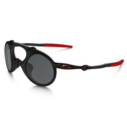 Óculos Oakley Madman Dark Carbon/Black Iridium Polarized (Ferrari Collection)