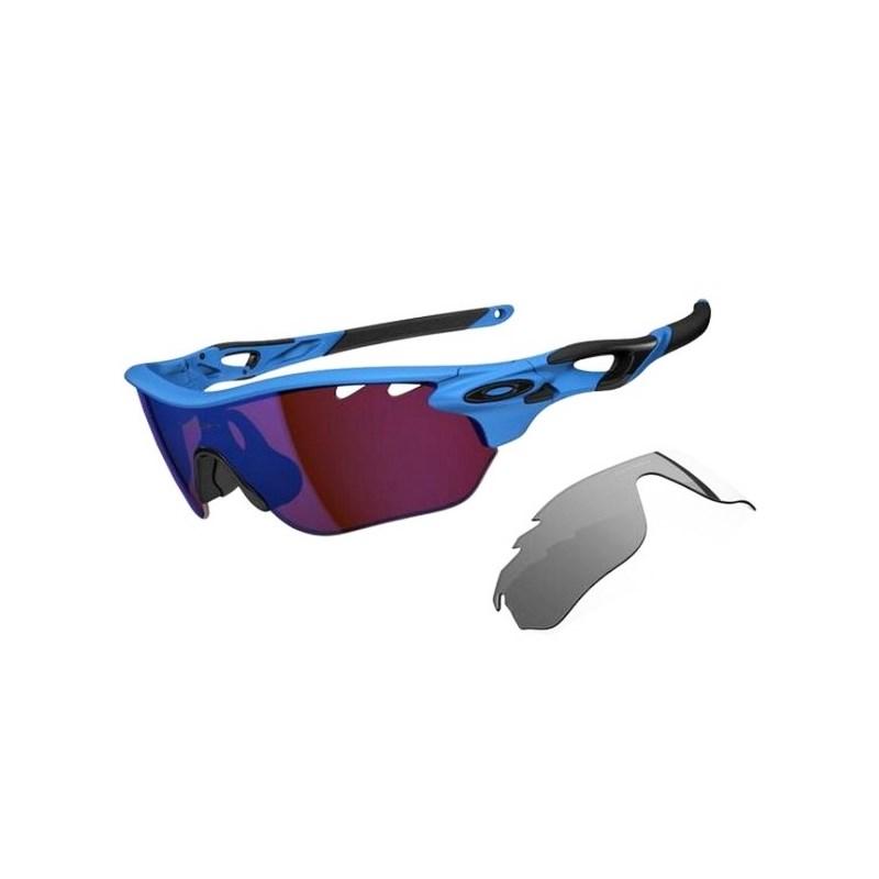 Óculos Oakley Radarlock Matte Glacier G30 Iridium Vented c044331cab
