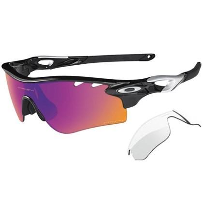 Óculos Oakley Radarlock Polished Black/Black Iridium