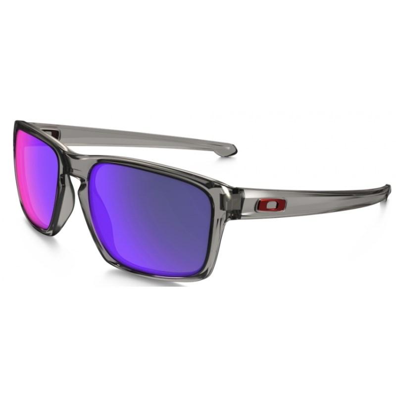 Óculos Oakley Sliver Grey Smoke   Red iridium Polarized b110c3c90f