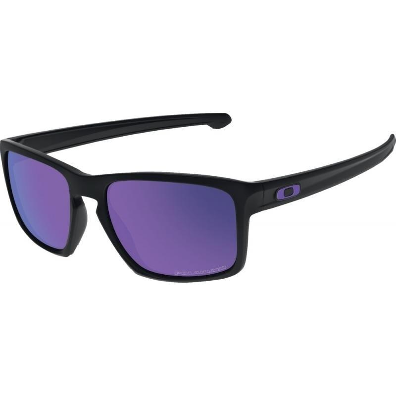 Óculos Oakley Sliver Matte Black Violet Iridium Polarized d18d1bd8d2