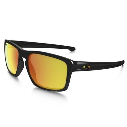 Óculos Oakley Sliver Polished Black / Prizm Daily Polarized