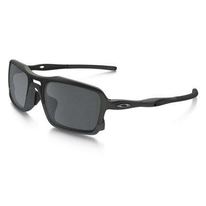 Óculos Oakley Triggerman Matte Black / Sapphire Iridium Polarized