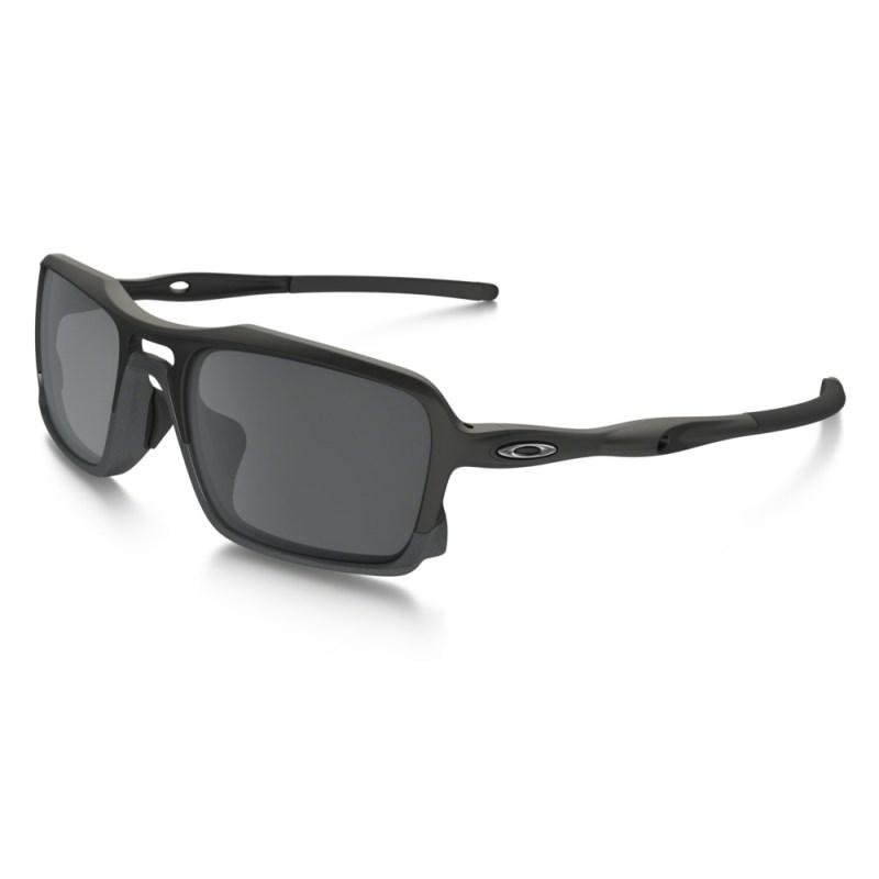 culos Oakley Triggerman Matte Black Black Iridium - Back Wash 7ffb643249