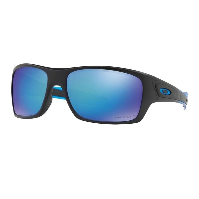 Óculos Oakley Turbine Polished Black / Black iridium Polarized