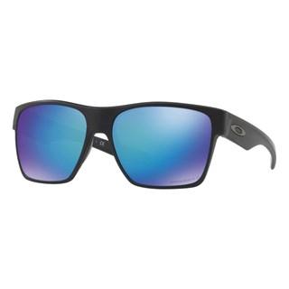Óculos Oakley Two Face XL Matte Black / Prizm Saphire