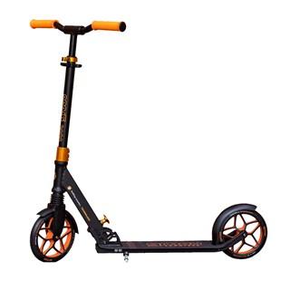 Patinete Groov Premium Folding Scooter Preto Laranja