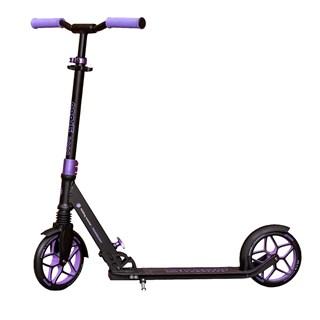 Patinete Groov Premium Folding Scooter Preto Lilas