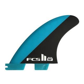 Quilha FCS II MF Medium - Mick Fanning Azul e Preta