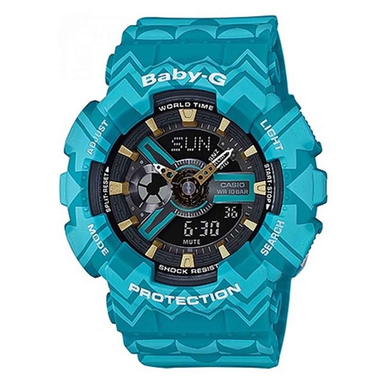 0e718a5ce20 Relógio Casio Baby-G BA-110TP-2ADR - Back Wash
