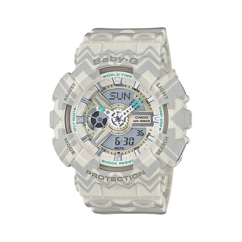 5867fbbd6c0 Compre Relógio Casio Baby-G BA-110TP-8ADR na Back Wash!