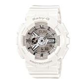Relógio Casio Baby G Branco/Prata