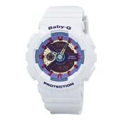 Relógio Casio Baby G Branco/Rosa/Azul