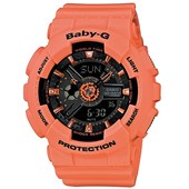 Relógio Casio Baby G Coral