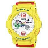 Relógio Casio Baby G G-Lide Amarelo/Vermelho