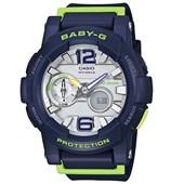 Relógio Casio Baby G G-Lide Azul/Verde