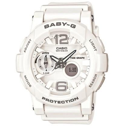 Relógio Casio Baby G G-Lide Branco