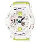 Relógio Casio Baby G G-Lide Branco/Verde
