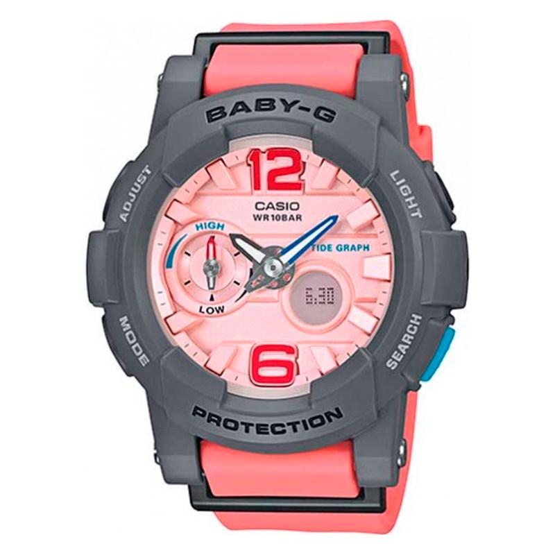 7901d240272 Relógio Casio Baby G G-Lide Cinza Rosa - BackWash