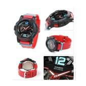 Relógio Casio Baby G G-Lide Preto/Vermelho