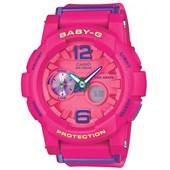 Relógio Casio Baby G G-Lide Rosa
