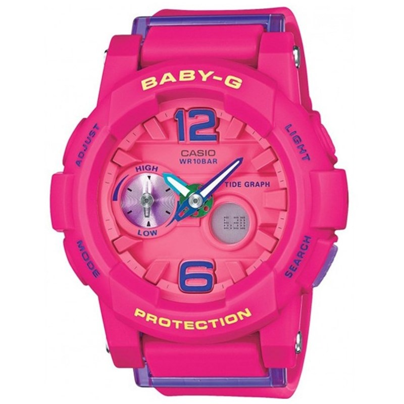 5c08349c71d Relógio Casio Baby G G-Lide Rosa - Compre na Back Wash!