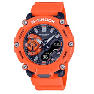 Relógio Casio G-Shock GA-2200M-4A Laranja