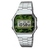 64627343a7a Relógio Casio Vintage A168WEC-3DF Prata ...