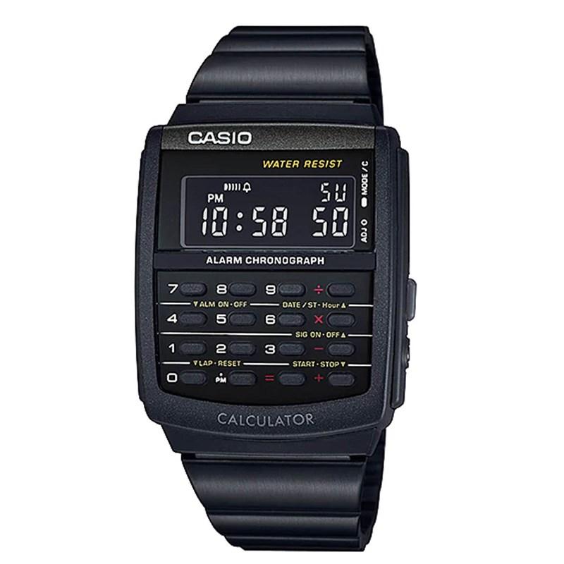 a86e051d535 Relógio Casio Vintage Calculadora CA-506B-1ADF - Back Wash