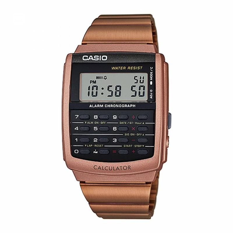 0480be2ee06 Relógio Casio Vintage Calculadora CA-506C-5ADF - Back Wash