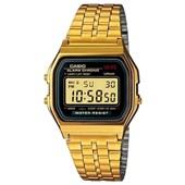Relógio Casio Vintage Dourado/Preto A159WGEA-1DF