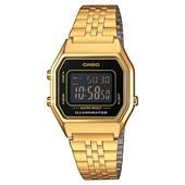 Relógio Casio Vintage Dourado/Preto LA680WGA-1BDF