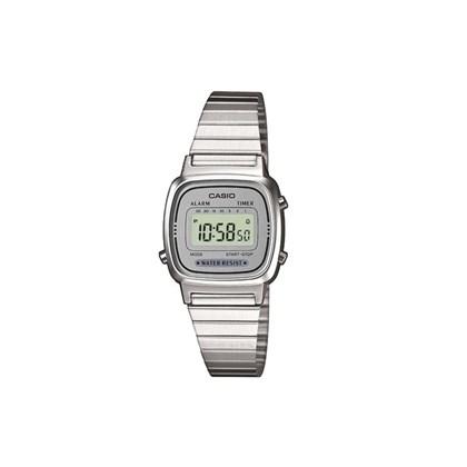 Relógio Casio Vintage Prata LA670WA-7DF