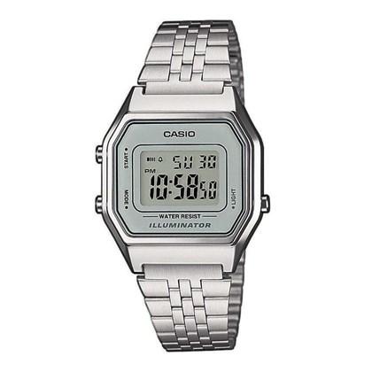 Relógio Casio Vintage Prata LA680WA-7DF