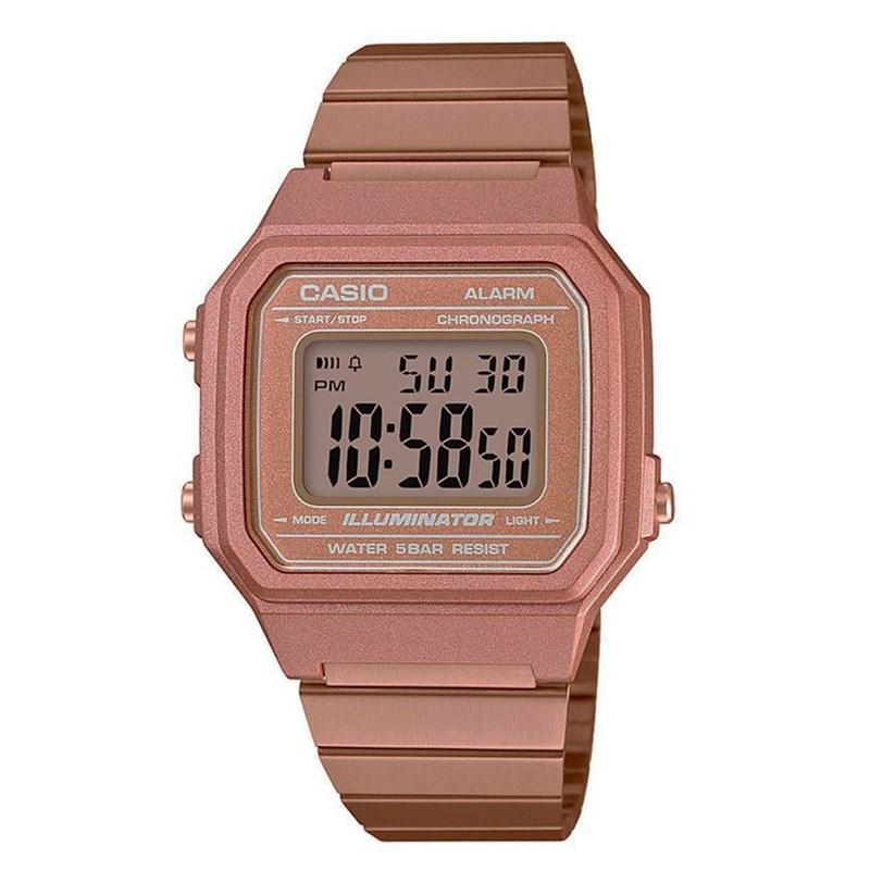 974d01f66f9 Relógio Casio Vintage Rose B650WC-5ADF - BackWash