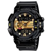 Relógio G-Shock G-Mix Bluetooth Black/Gold