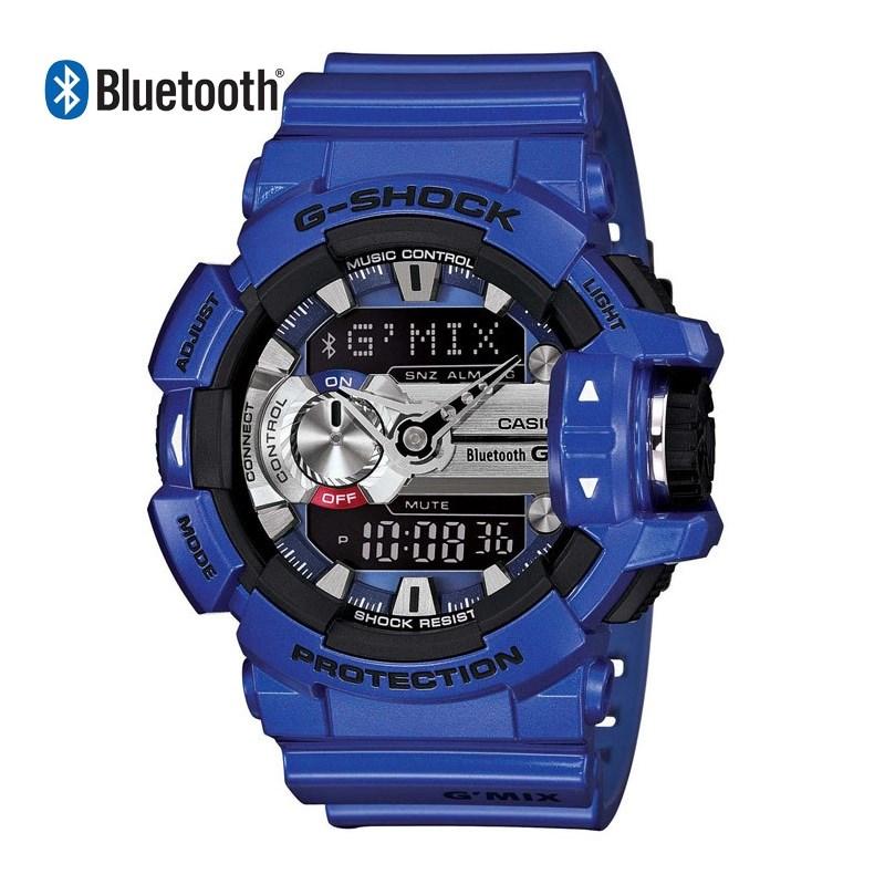 a7679dc1719 Relógio G-Shock G-Mix Bluetooth Blue - Back Wash