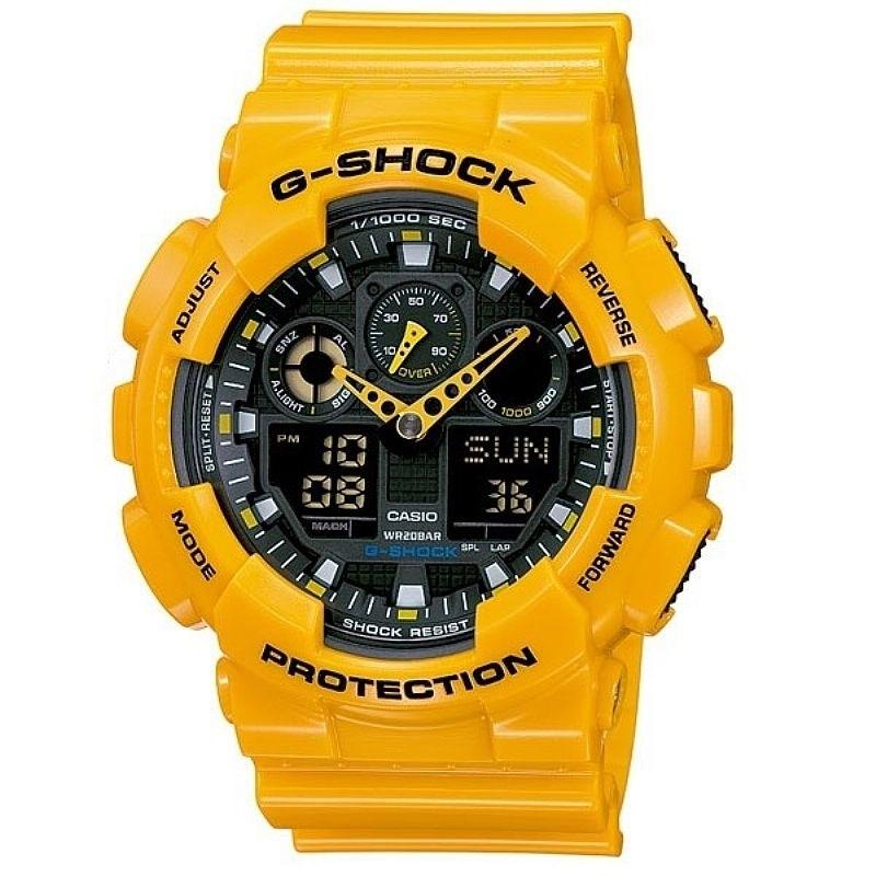 f51dee33981 Relógio G-Shock GA-100A-9ADR - Compre na Back Wash!