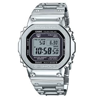 Relógio G-Shock GMW-B5000D-1DR Tough Solar e Bluetooth